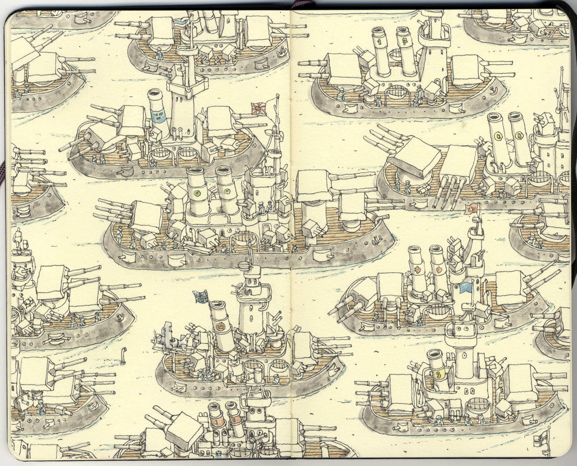 Dreadnought race by MattiasA