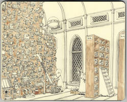 the pneumatic post room by MattiasA