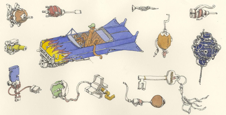 Spare parts by MattiasA