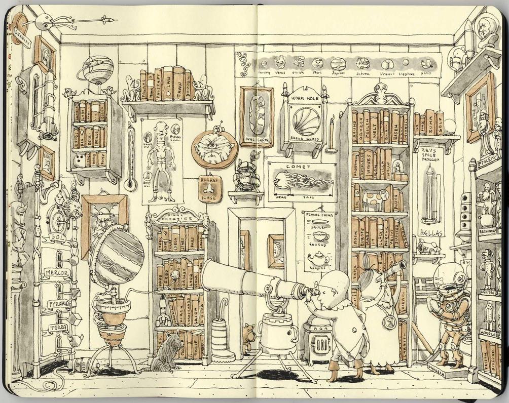the spacious room by MattiasA