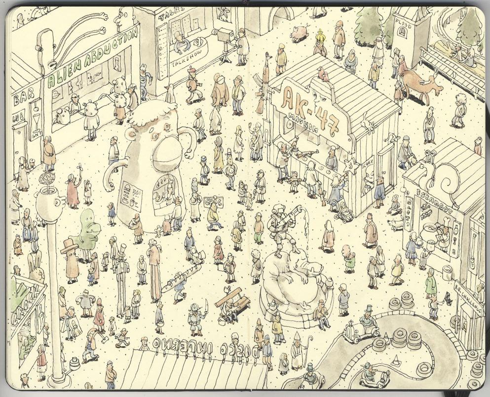 The Fairground by MattiasA