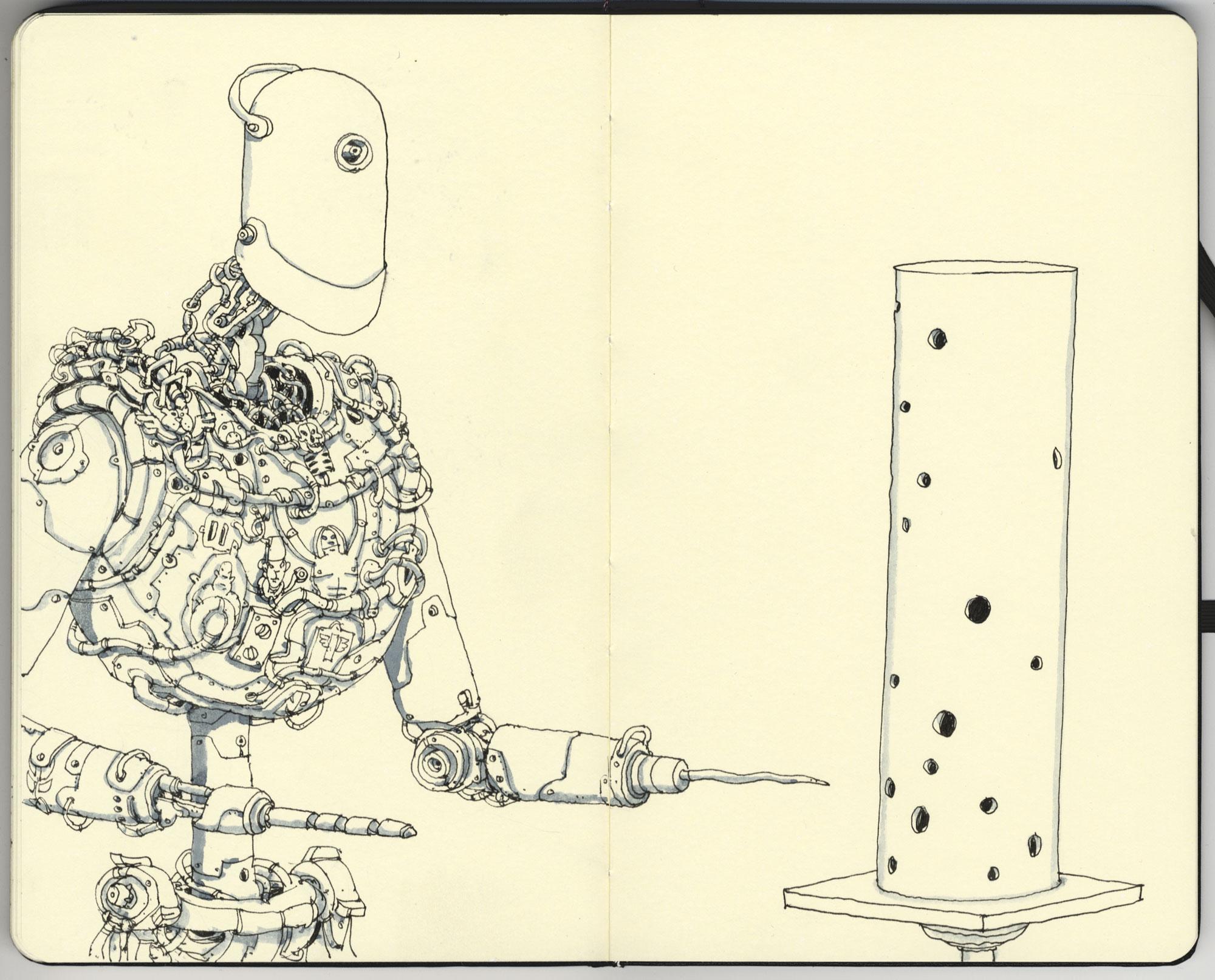 Driller art by MattiasA