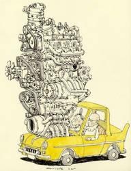 Muscle car by MattiasA