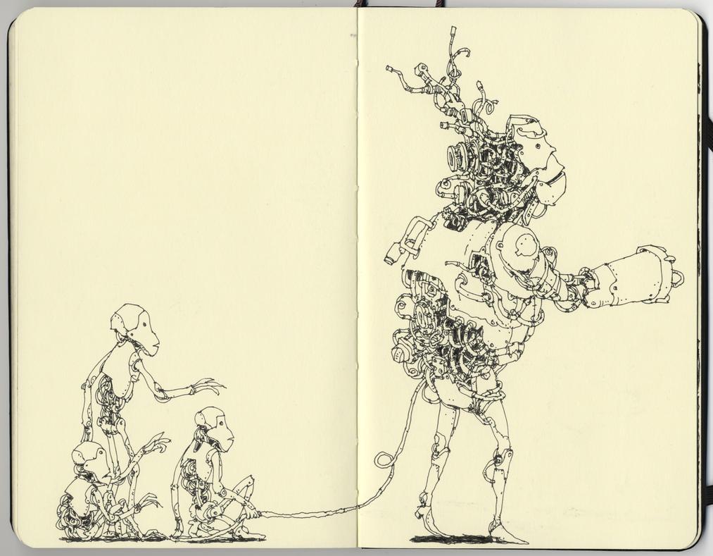 Three friends by MattiasA