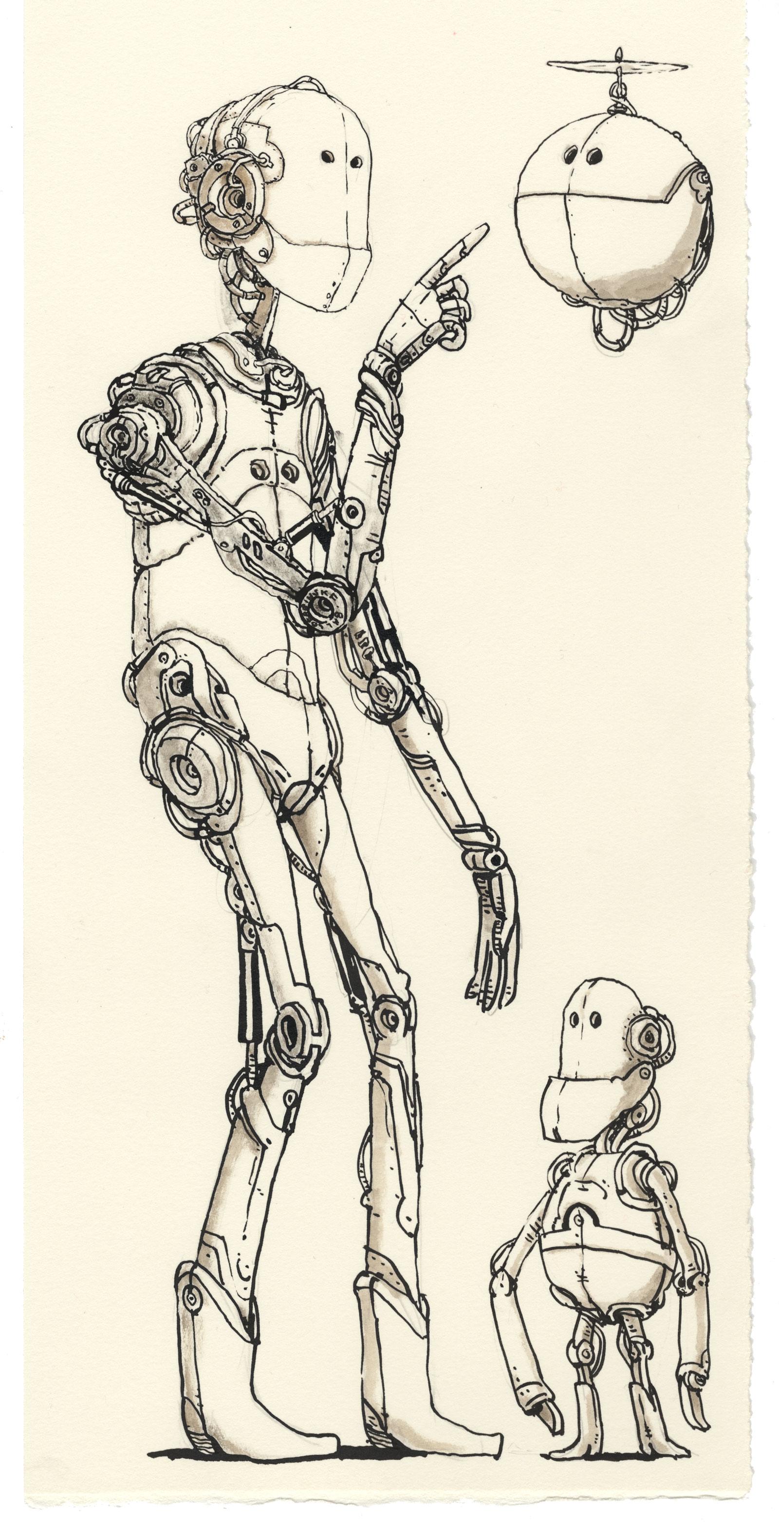Unruly robot by MattiasA
