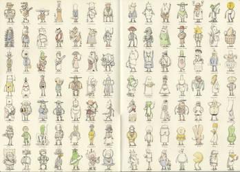 99 characters by MattiasA
