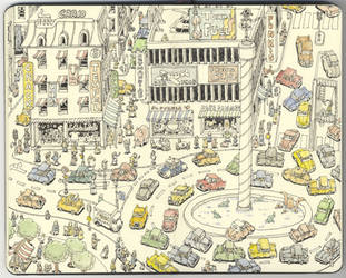 Sergels Square by MattiasA