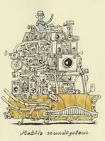 Mobile soundsystem by MattiasA
