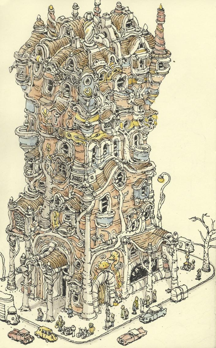 Catalan modernism by MattiasA