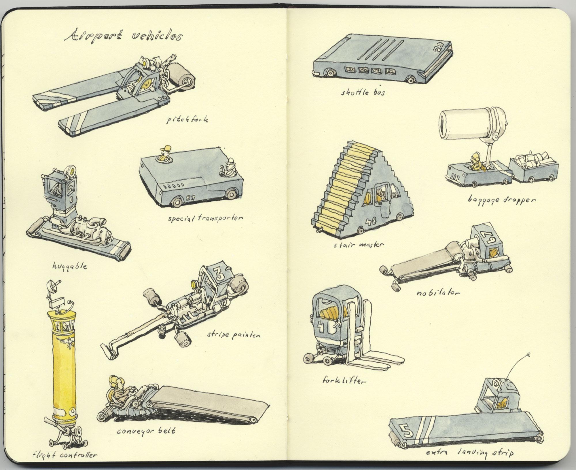 Airport-vehicles