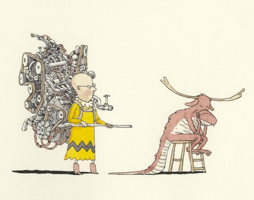 Dragon motivator by MattiasA