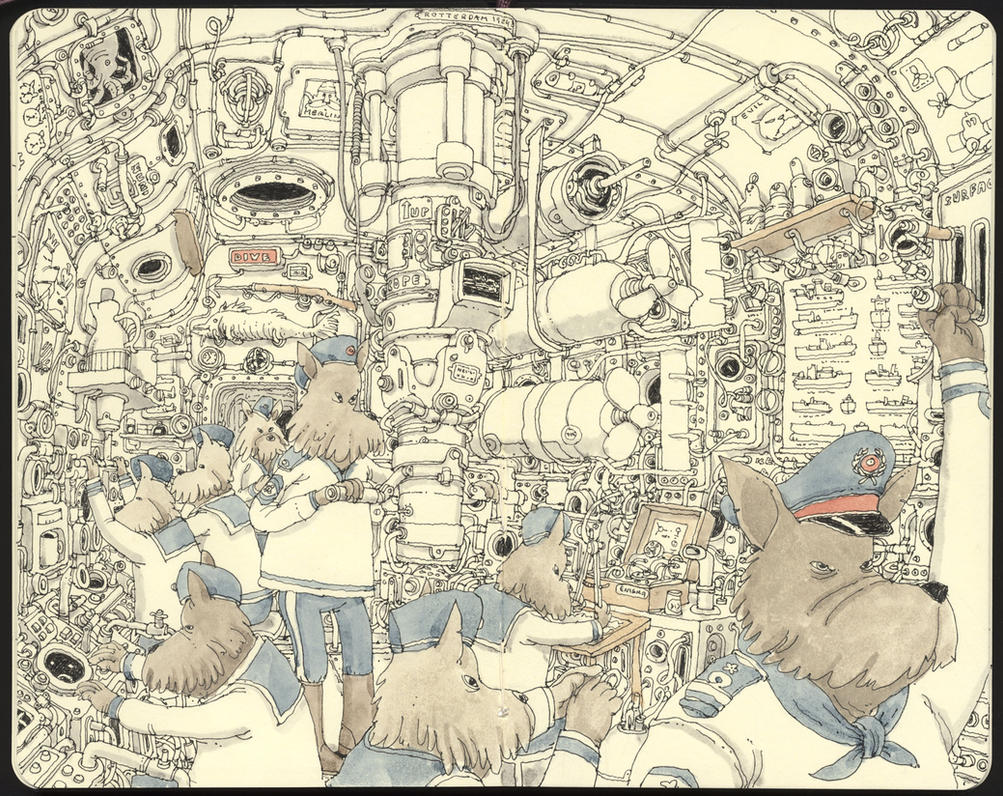 Wolfpack by MattiasA