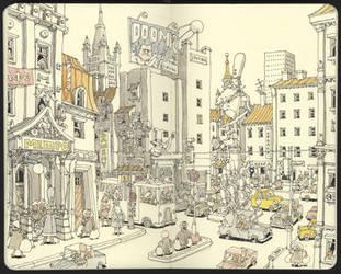 City planning by MattiasA