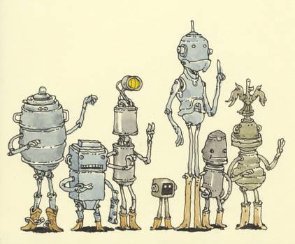 A squeaky gang