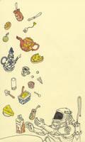Breakfast-in-space by MattiasA