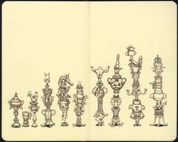 Cups by MattiasA