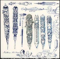 Pen doodles by MattiasA