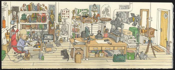 Studious in my studio