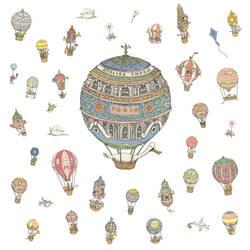 Balloons by MattiasA