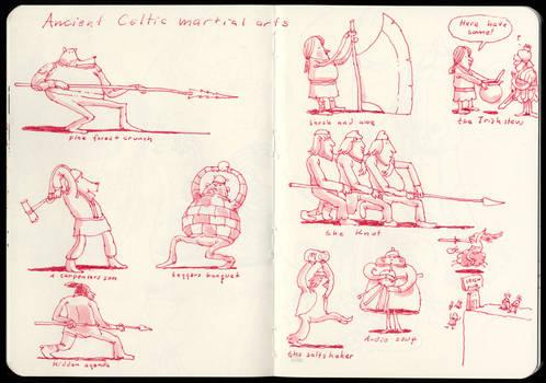Celtic martial arts