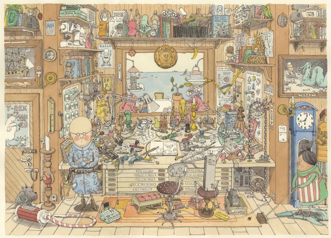 Clutter by MattiasA
