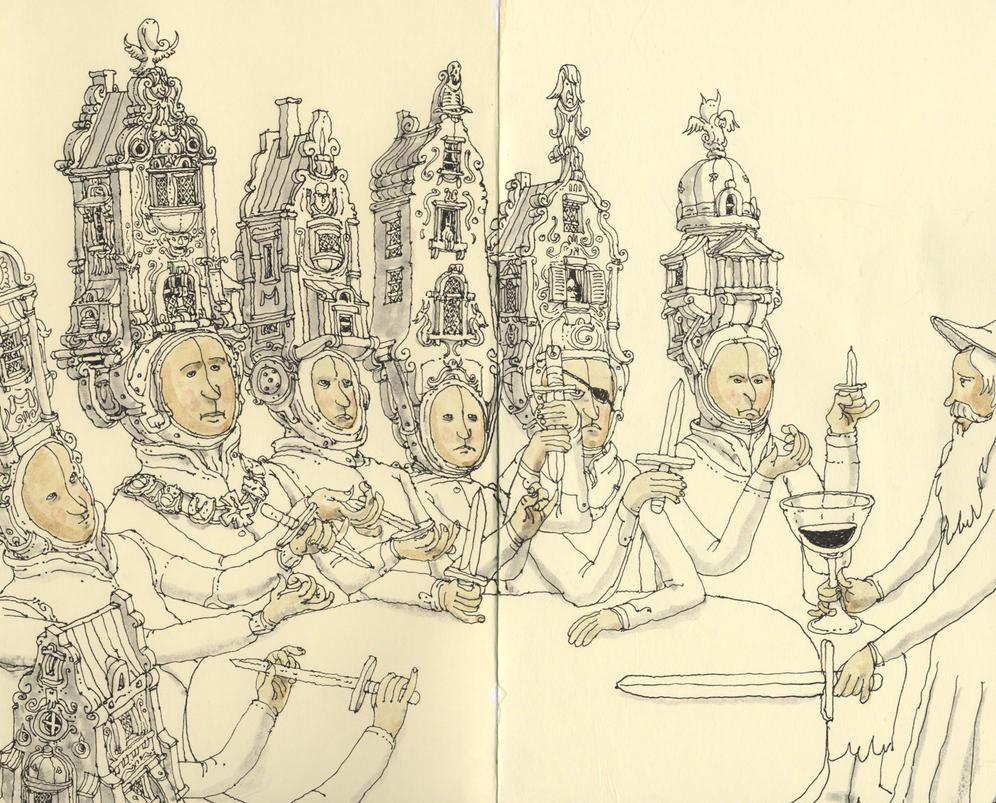 The conspiracy of Claudius Civilis by MattiasA