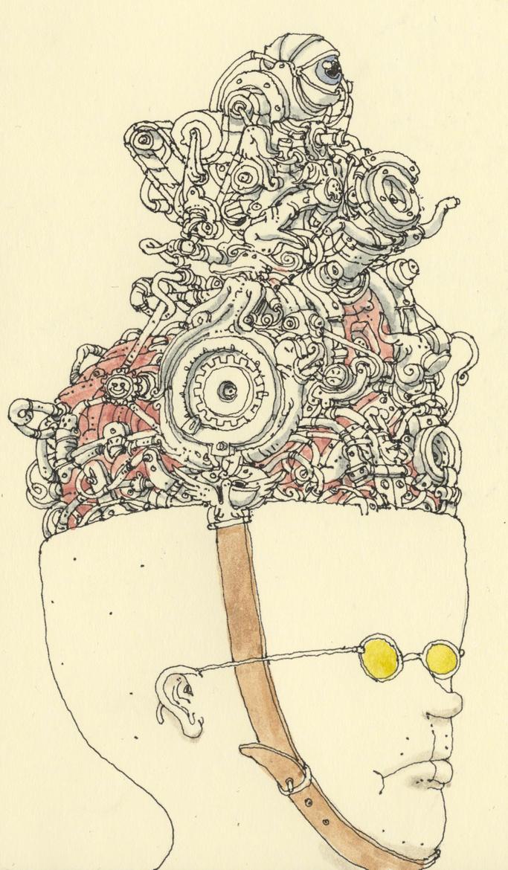 Self portrait with yellow shades by MattiasA