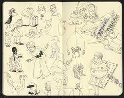 character studies by MattiasA