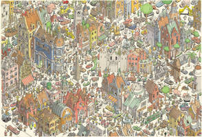 Just your average generic European city by MattiasA