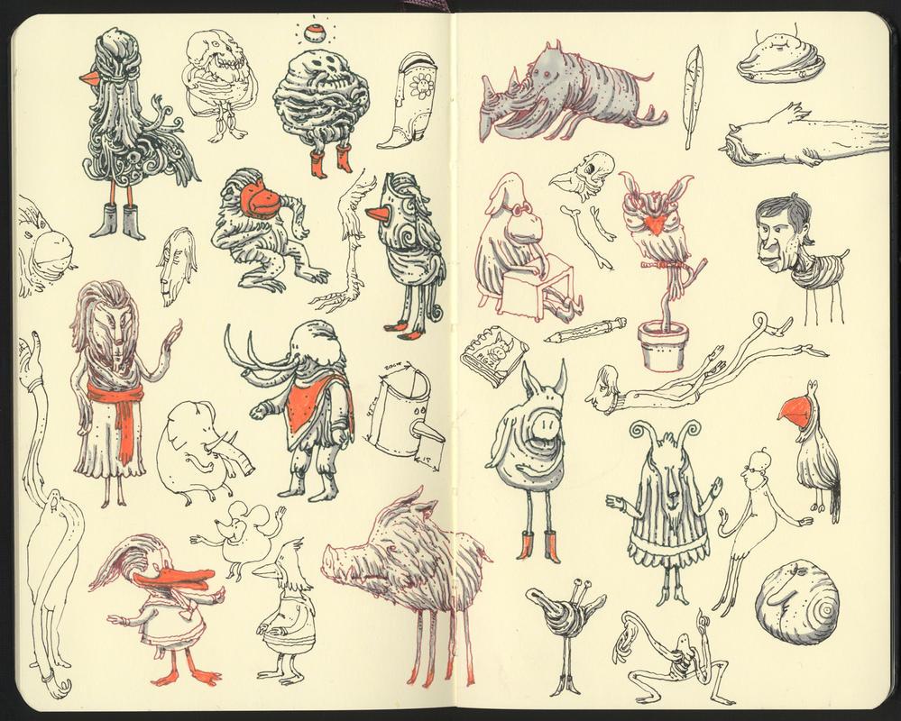 Sketches by MattiasA