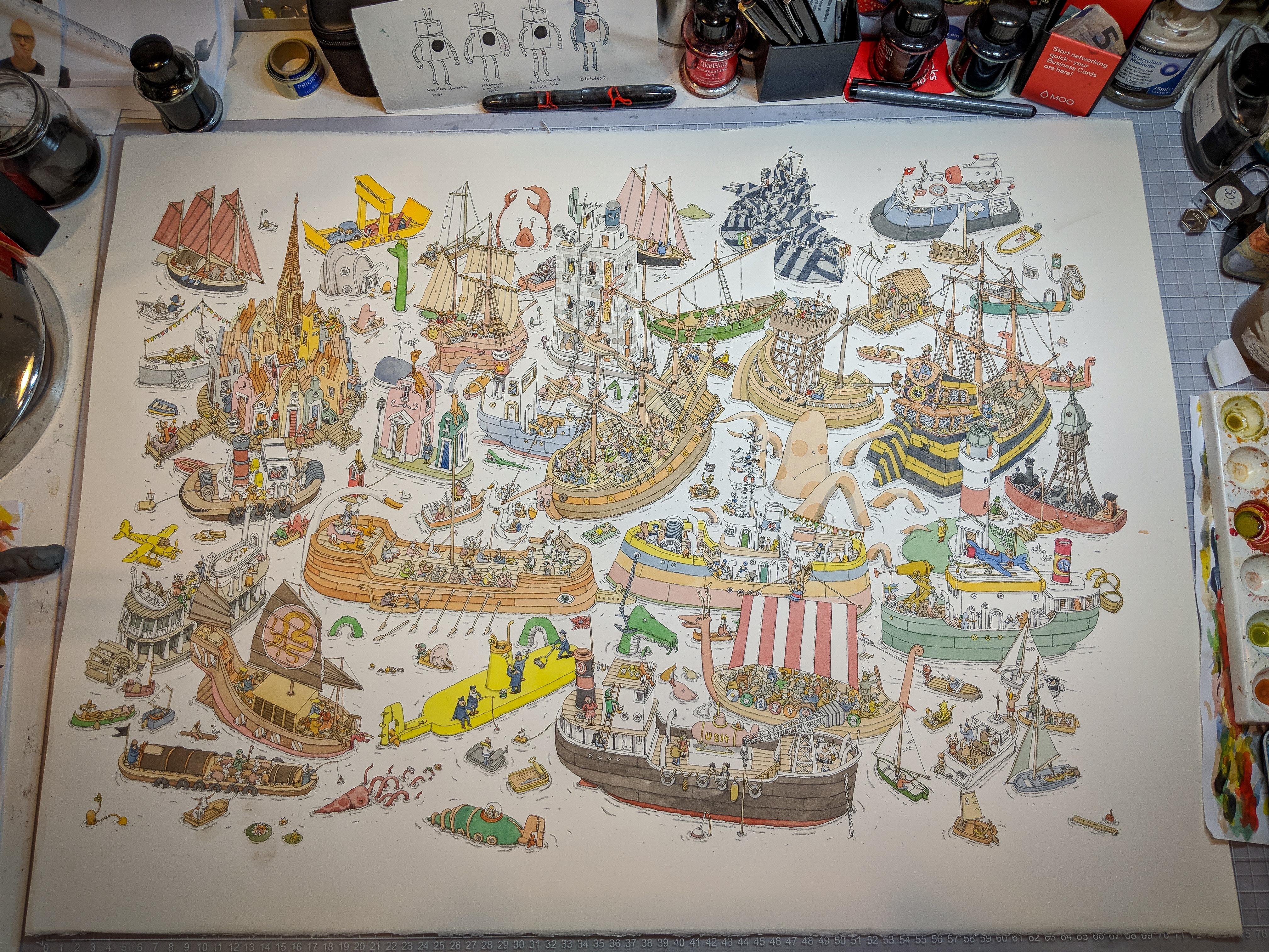boats by MattiasA