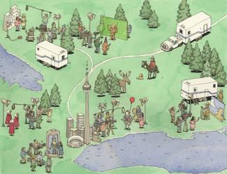 Ontario's place in Hollywood by MattiasA