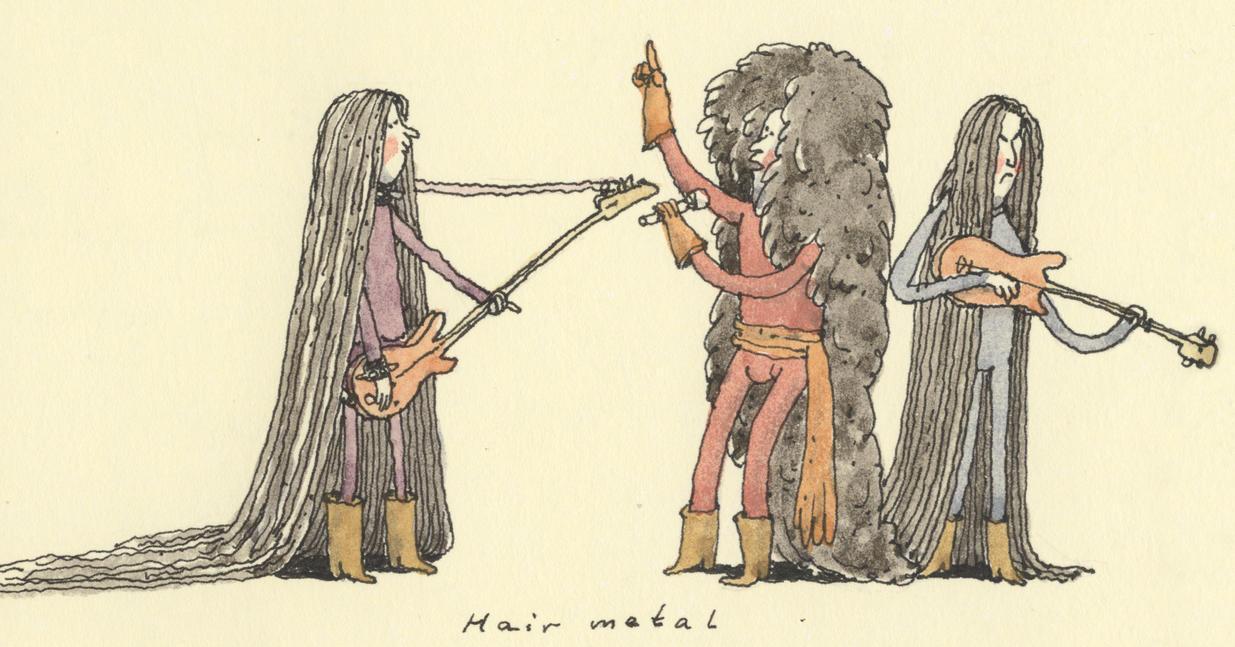 Hair metal by MattiasA