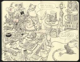 The last drawing by MattiasA