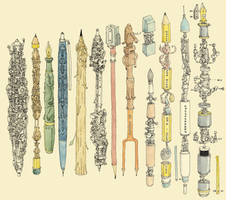 Pen collecting by MattiasA