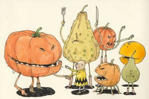 The rest of the Pumpkin family by MattiasA