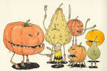 The rest of the Pumpkin family