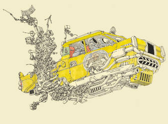 Yellow cab by MattiasA