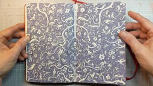 Moleskine sketchbook 36 by MattiasA