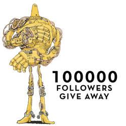 100000 followers by MattiasA