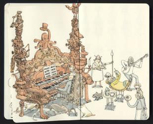 Firing up the old Clavichord by MattiasA