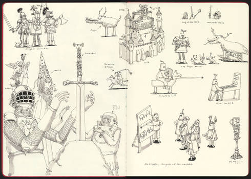 Swords in stones and other things
