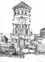 railroad_tower by MattiasA