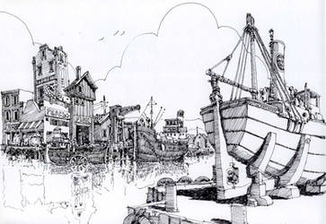 the dock by MattiasA