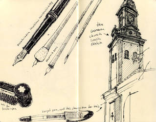 My pens and ink by MattiasA