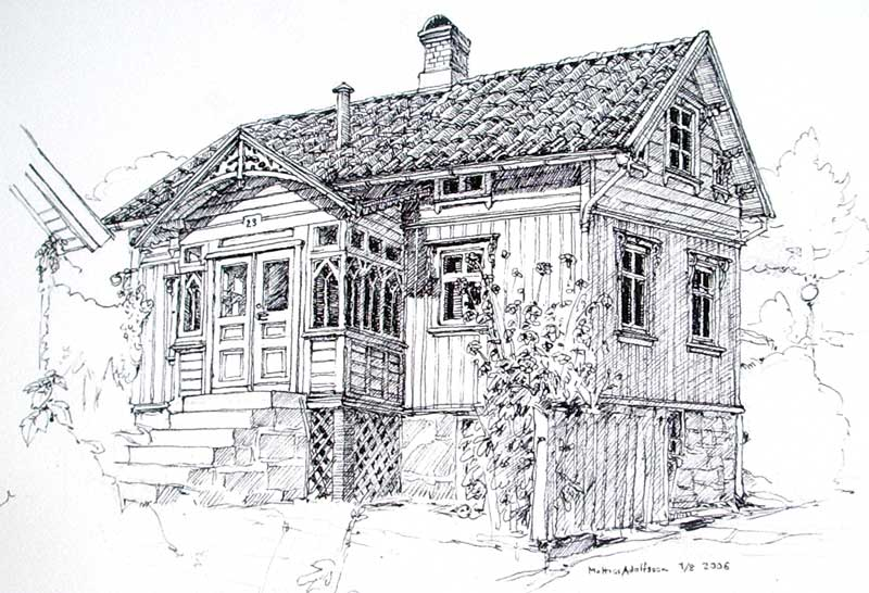 Patriks house by MattiasA