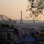 Une vue de Montmartre