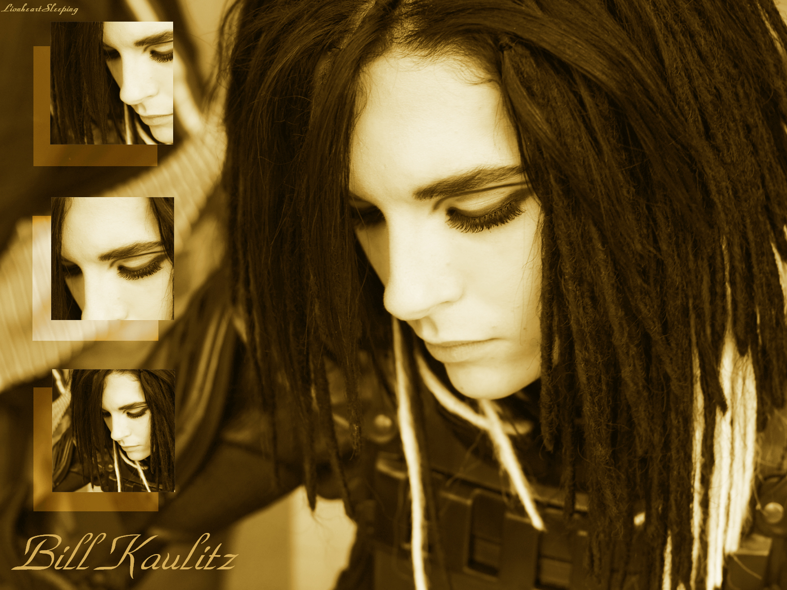 Bill Kaulitz Wallpaper by ~LionheartSleeping on deviantART