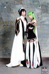 C.C.-Lelouch Code Geass_ Empress-Emperor dresses