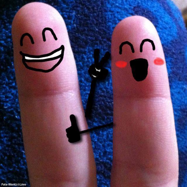 Finger Faces Falling In Love | Taleh Wallpaper HD